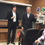Dr Zhu with Prof Liao 2